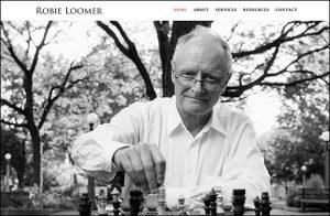 Website for Robie Loomer