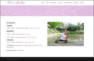 Website for Roxanne Joly